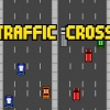 Traffic cross: Don\'t hit by car