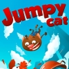 Jumpy cat