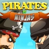 Pirates vs ninjas: 2 player game