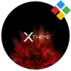 xBlack – Red Premium Theme